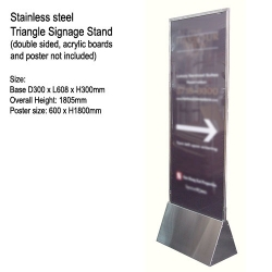 Stand Signage-Umbrella Bag Stand-1322